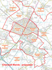 Cherwell Ward changes