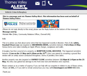 Thames Valley Alert (May'15)